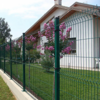PVC Coated 3D Wire Mesh Fence