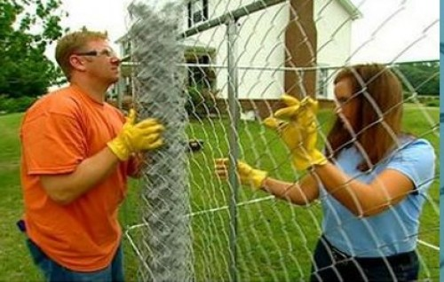 Galvanized Steel Chain Link Fence