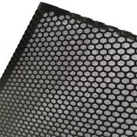 Black decorative aluminum expanded wire mesh