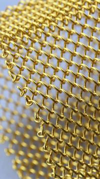Beautiful color decorative wire mesh