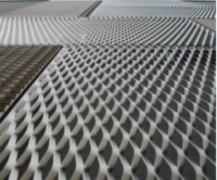 Decorative aluminum expanded metal mesh