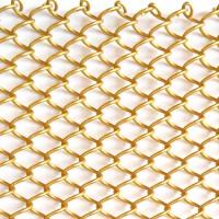 Decoration metal expandable wire mesh