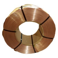 Flexible duct steel wire copper plated